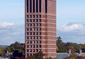 Undated photograph of Kline Tower