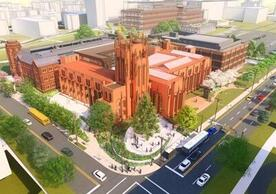 Rendering of the future Peabody Museum.